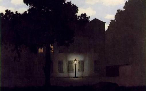 an analysis of the surrealistic painting time transfixed by rene margritte ~rené magritte, statement in take a look at this site to read more about time transfixed:.